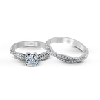 Zeghani ZR717 WEDDING SET