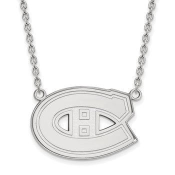 Gold Montreal Canadiens NHL Necklace