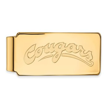 Gold Washington State University NCAA Money Clip
