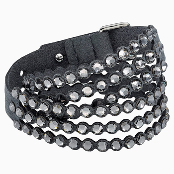 Swarovski Power Collection Bracelet, Dark Gray