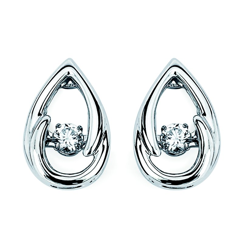 Ostbye Earrings Rd V 0.12