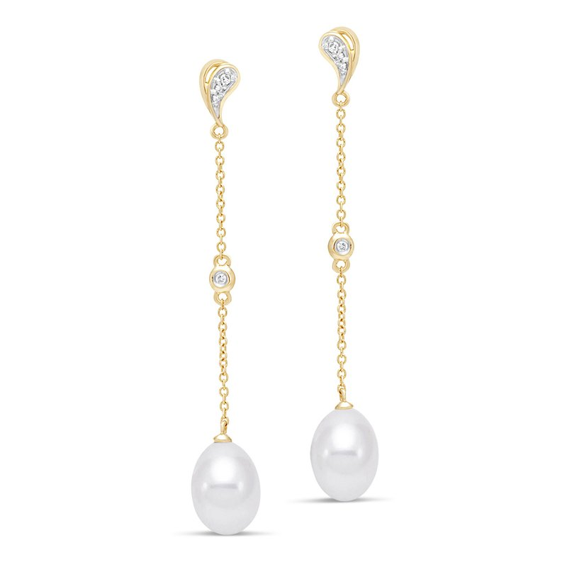 Mastoloni Pearls Paisley Drop Earrings