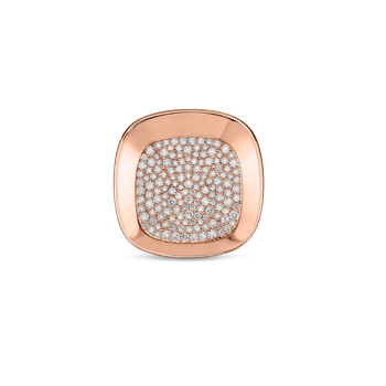 Large Ring With Diamonds