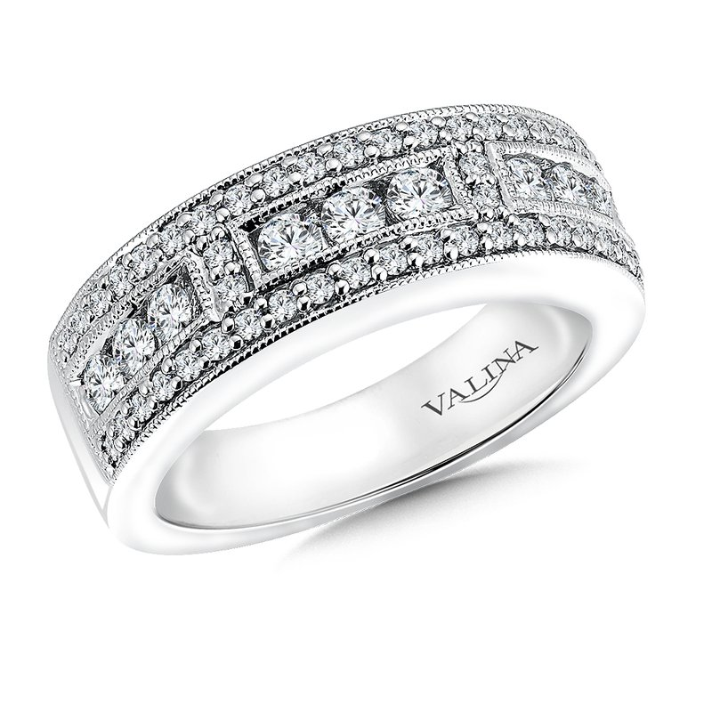 Valina Bridals Diamond Anniversary Band 0.77 ct. tw.
