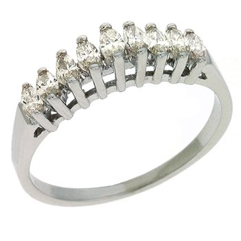Marquee 9 Stone Diamond Band