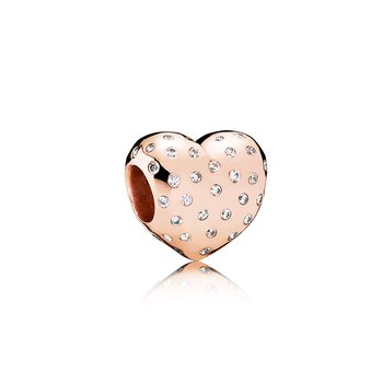 Sparkle Of Love, Pandora Rose™ Clear Cz