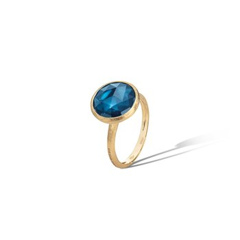 Jaipur London Blue Topaz and Ring