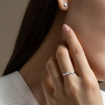 Dainty Diamond Ring
