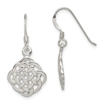 Sterling Silver Celtic Dangle Earrings