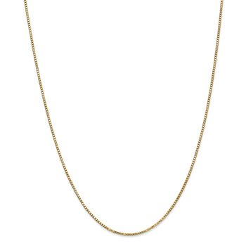 Leslie's 14K 1.3 mm Medium Box Chain