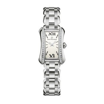 Alacria Princess Stainless Diamond Womens Watch