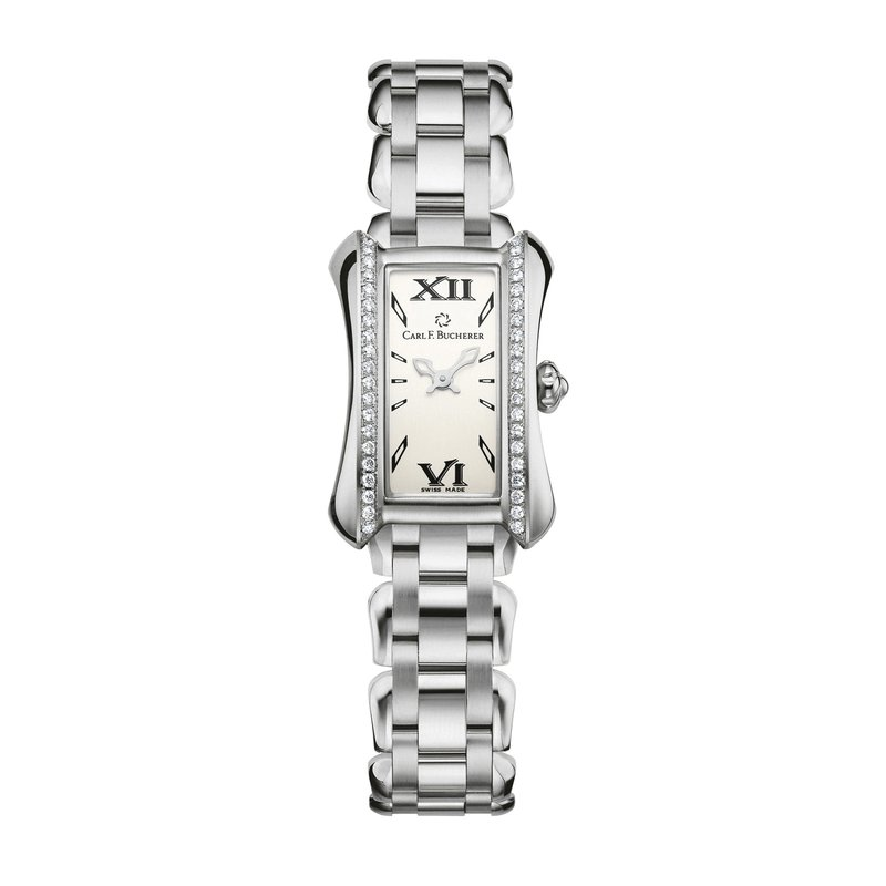 Carl F. Bucherer Alacria Princess Stainless Diamond Womens Watch