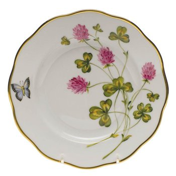 Salad Plate  Red Clover