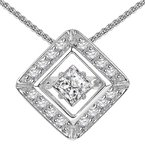 Rhythm of Love 14K Diamond Rhythm Of Love Pendant 3/4 ctw