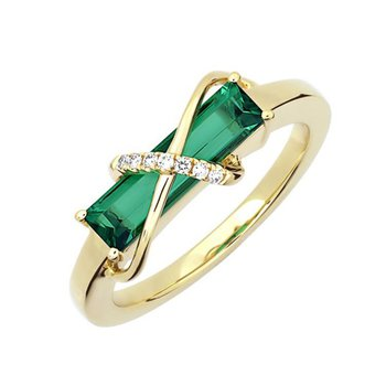 Emerald Ring-CR13118YEM