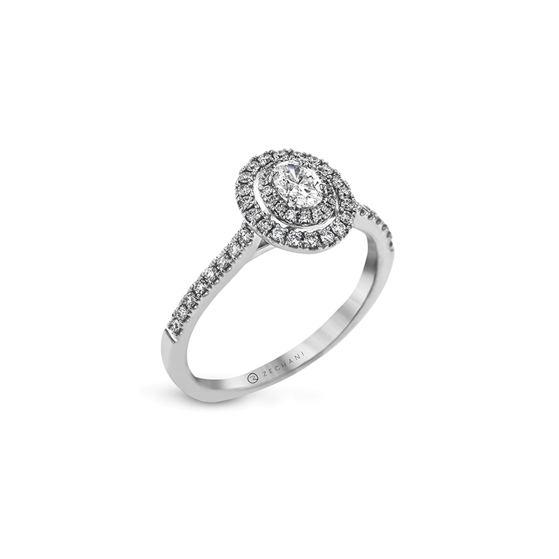 Zeghani ZR1869 ENGAGEMENT RING
