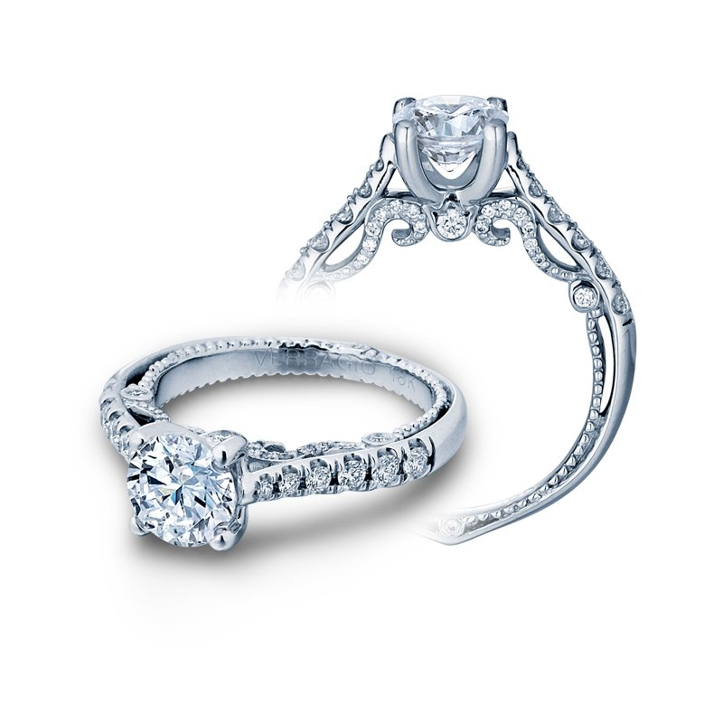 Verragio INSIGNIA-7066R White Gold Engagement Ring