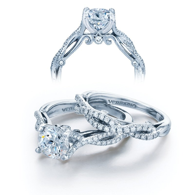 2626f6f6a92 Verragio Engagement Ring. Stock   INS-7050R