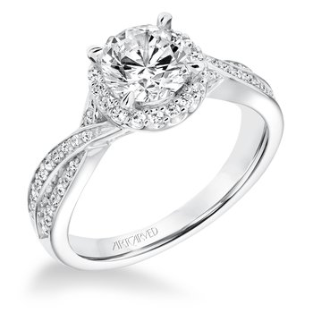 ArtCarved Eliana Diamond Engagement Mounting