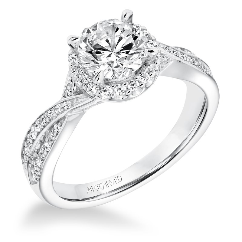 ArtCarved ArtCarved Eliana Diamond Engagement Mounting