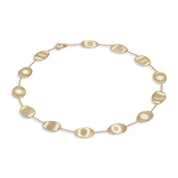 Lunaria Gold Short Necklace