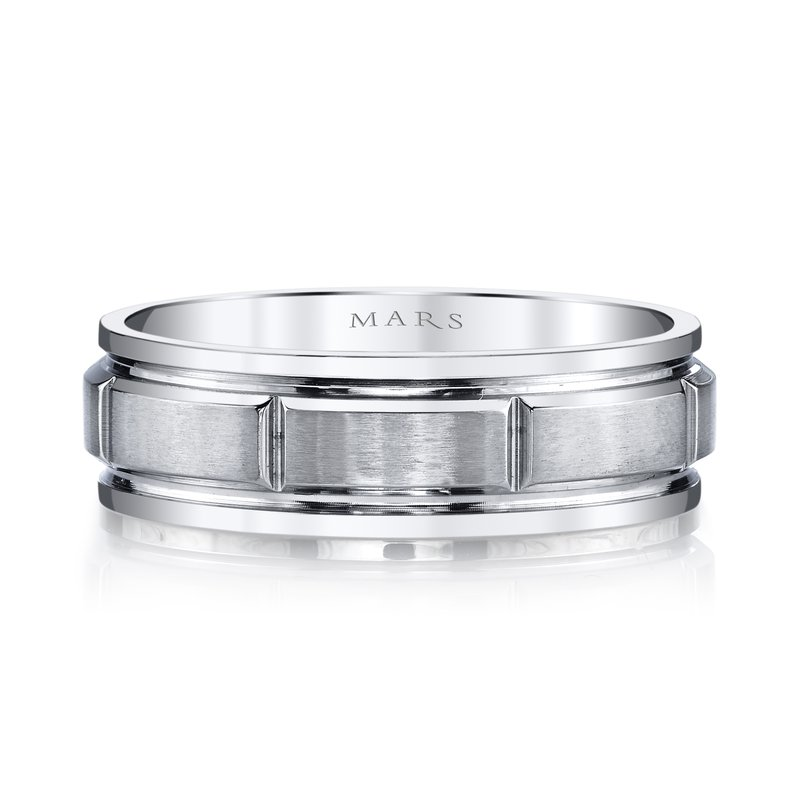 MARS Jewelry MARS G130 Men's Wedding Band