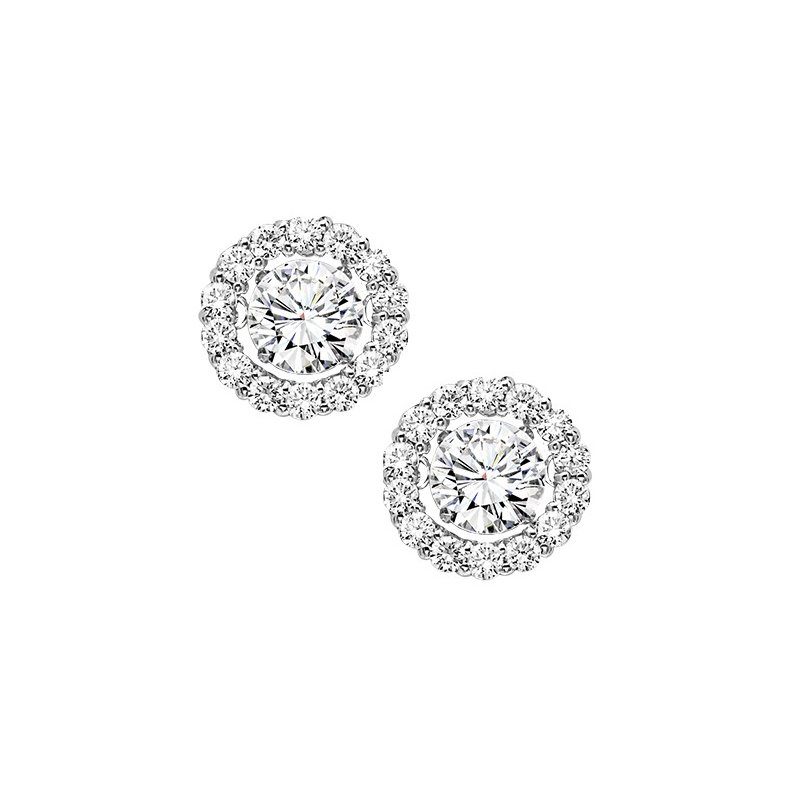 Rhythm of Love 14K Diamond Rhythm Of Love Earrings 3/4 ctw