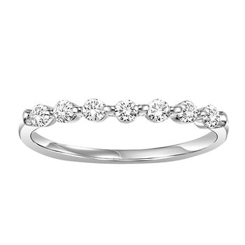 14K Diamond Matching Band 1/4 ctw