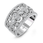 Simon G Diamond Wedding Band / Anniversary Ring