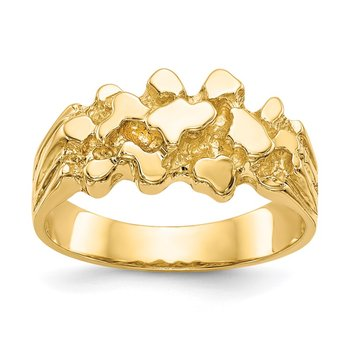 14k Nugget Ring