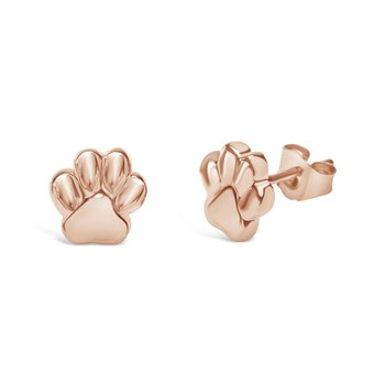 8.5mm Rose Paw Earring