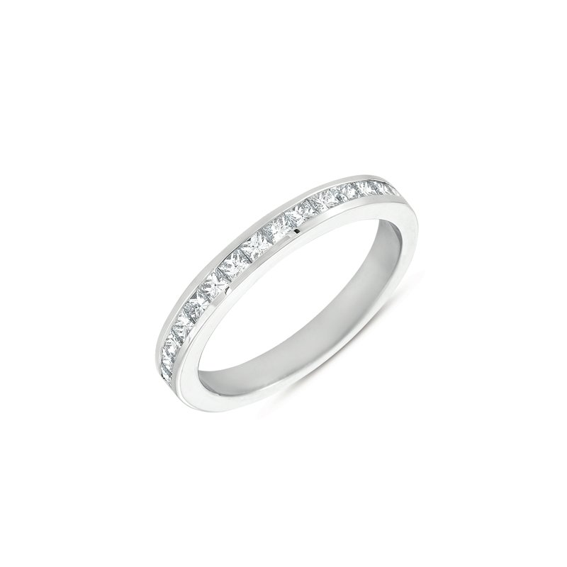 S. Kashi & Sons Bridal Palladium Princess Band