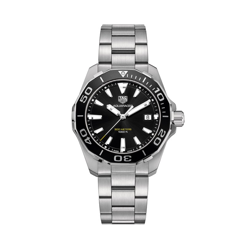 Tag Heuer - USD Aquaracer 300M Aluminum Bezel Quartz Watch
