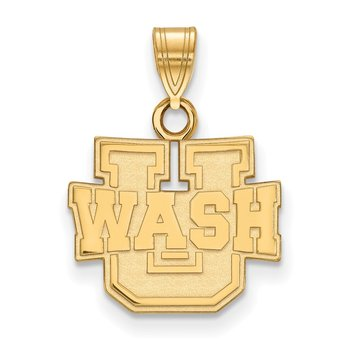 Gold Washington University in St. Louis NCAA Pendant