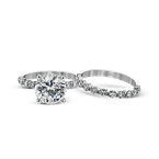 Simon G MR1907 WEDDING SET