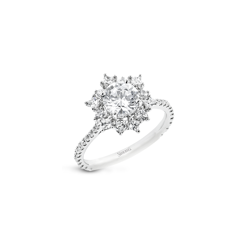 Simon G LR2846 ENGAGEMENT RING
