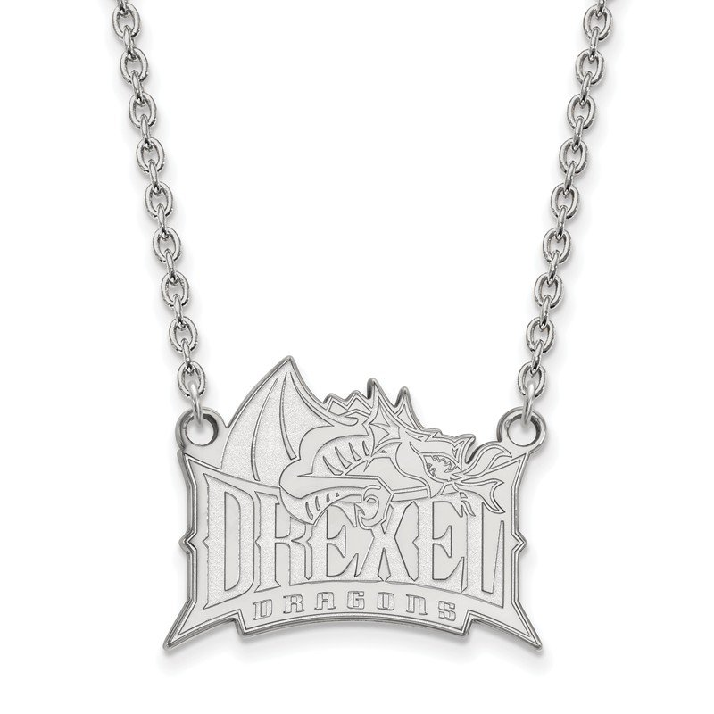 NCAA Sterling Silver Drexel University NCAA Necklace
