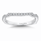 Valina Diamond and 14K White Gold Wedding Ring  (0.2 ct. tw.)