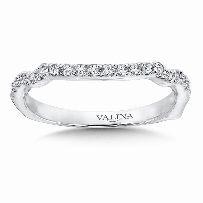Valina Bridals Diamond and 14K White Gold Wedding Ring  (0.2 ct. tw.)