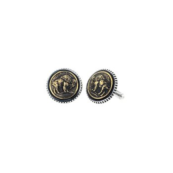 Buffalo Concho Cufflinks