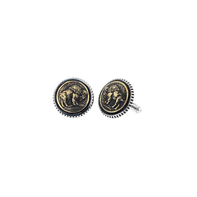 King Baby Buffalo Concho Cufflinks