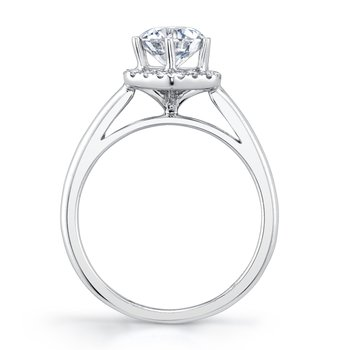 MARS 27183 Diamond Engagement Ring, 0.15 Ctw.