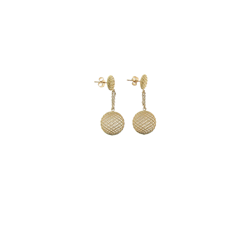 Roberto Coin 18KT GOLD SMALL DROP EARRINGS