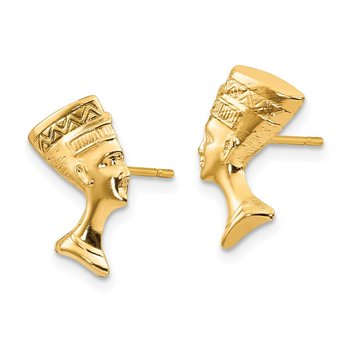 14k Madi K Nefertiti Post Earrings