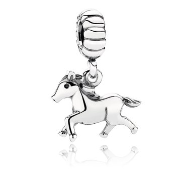 Free Spirit Horse Dangle Charm