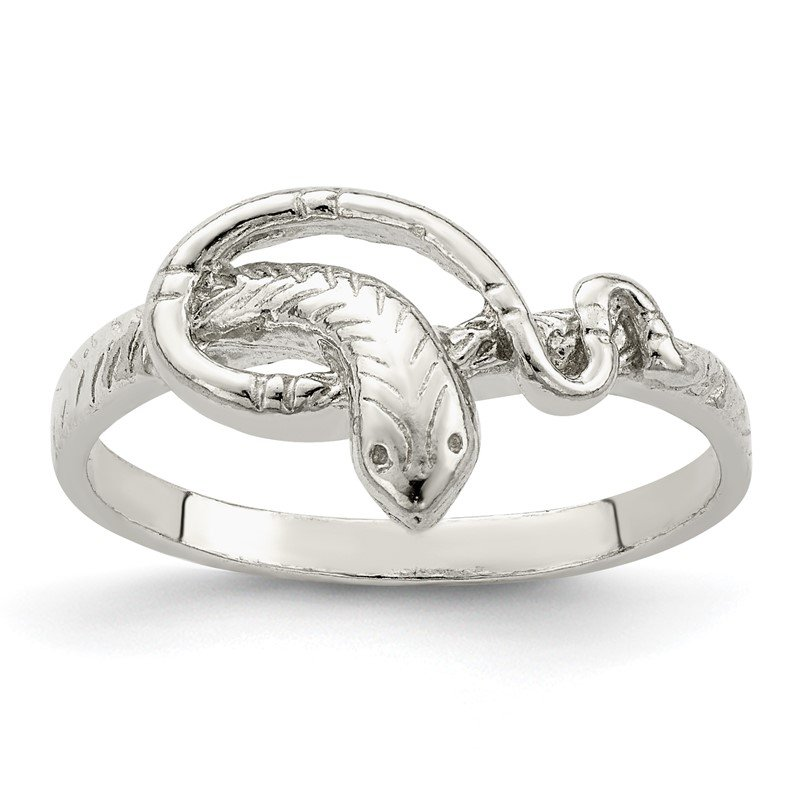 Quality Gold Sterling Silver Snake Ring