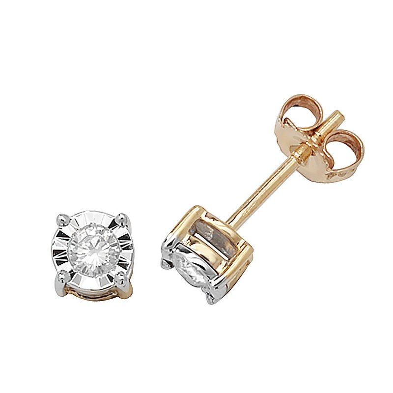 Treasure Diamond Studs Illusion Set