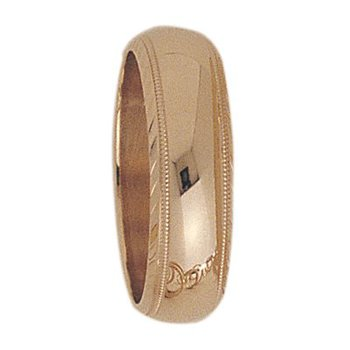 6mm S1T44 Ladies Wedding Band