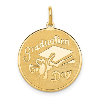 14k GRADUATION DAY Disc Charm