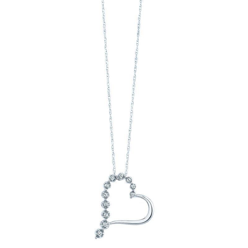 Simmons & Clark Two Hearts Collection Pendant